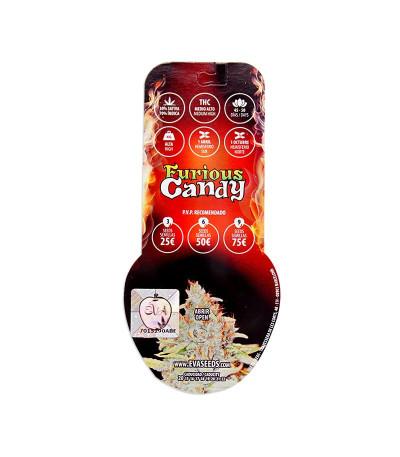 Семена конопли Furious Candy в оригинальной упаковке