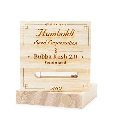 Семена конопли Bubba Kush 2.0 в оригинальной упаковке